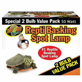 Zoo Med Repti Basking Spot Lamp 2 Pack 50 Watt