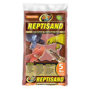 Zoo Med Repti Sand - Natural Red 5 Lb