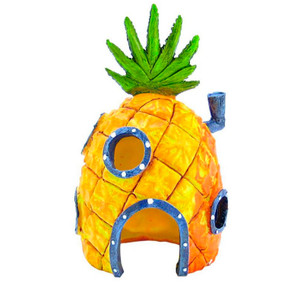 Penn Plax Sponge Bob Pineapple House Statue