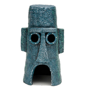 Penn Plax Sponge Bob Easter Island House Statue