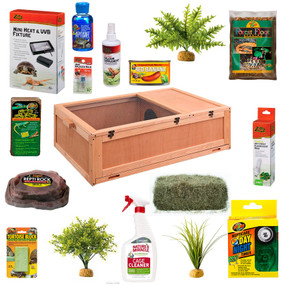 Wooden Forest Tortoise Package with free shipping