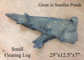 Small Floating Basking Log