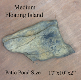 Patio Pond Medium Floating Island