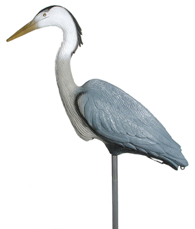 Lifelike Blue Heron Waterfowl