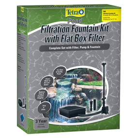 Pond Filtration And Fountain Kit