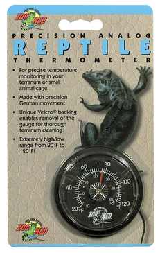 Zoo Med Analog Reptile Thermometer