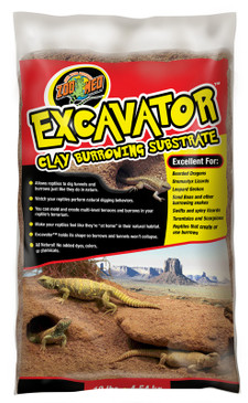 Excavator Clay Burrowing Substrate