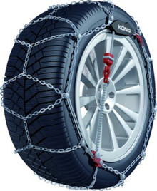 Konig CG9-075 Snow Tire Chains - Rack Stop, North Vancouver