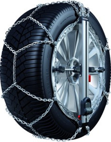 Konig Easy Fit CU9-090 Snow Tire Chains - Rack Stop, North Vancouver