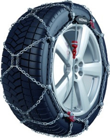 Konig XG12 PRO-245 Snow Tire Chains - Rack Stop, North Vancouver