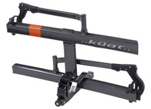 "Kuat SH22G Sherpa 2.0 Gray Orange Bike Rack 2"" - Rack Stop, North Vancouver"
