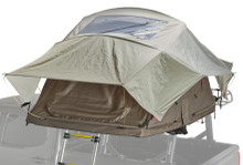 Yakima 8007436 SkyRise HD Small Tan/Red Rooftop Tent - Rack Stop, North Vancouver