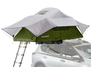 Yakima 8007434 SkyRise Medium Green Rooftop Tent - Rack Stop, North Vancouver