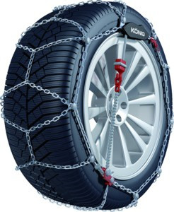 Konig CG9-090 Snow Tire Chains - Rack Stop, North Vancouver