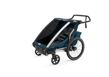Thule 10202023 Chariot Cross 2 Majolica Blue Trailer - Rack Stop, North Vancouver