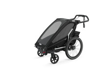 Thule 10201021 Chariot Sport 1 Black Trailer - Rack Stop, North Vancouver