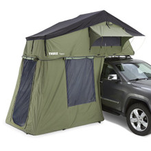 Thule 901451 Tepui Ruggedized Autana 3 Olive Green Rooftop Tent - Rack Stop, North Vancouver