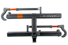 "Kuat SH12G Sherpa 2.0 Gray Orange Bike Rack 1.25"" - Rack Stop, North Vancouver"