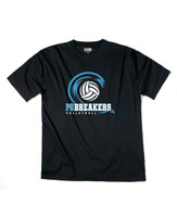PGMS Volleyball Unisex Cotton/Poly T-Shirt