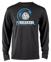 PGMS Volleyball Performance Long Sleeve T-shirt