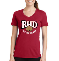 Otter Ohana Red Ladies Cut Shirt