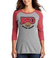 Otter Ohana Ladies Baseball Style Jersey