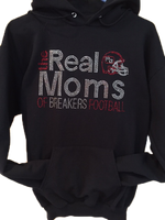 Real Moms of Breakers Football Hoodie