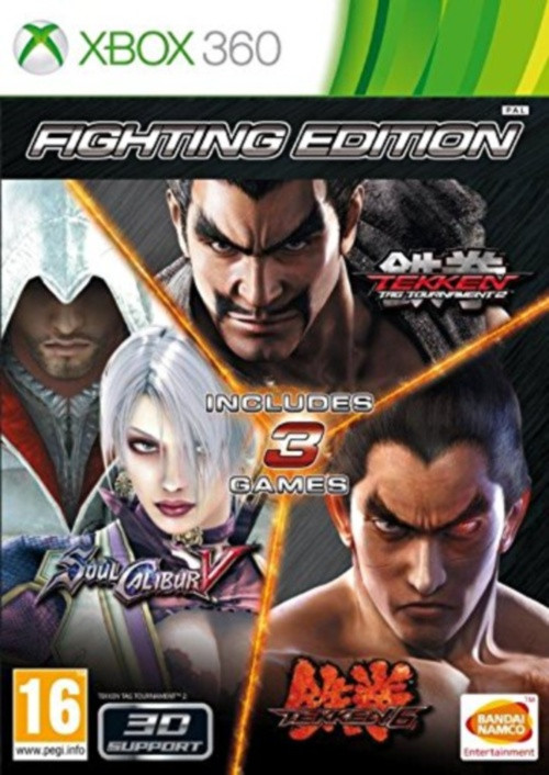 The Fighting Edition Tekken Tag Tournament 2 Soul Caliber V