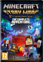Minecraft Story Mode Complete Adventure (PC DVD) product image