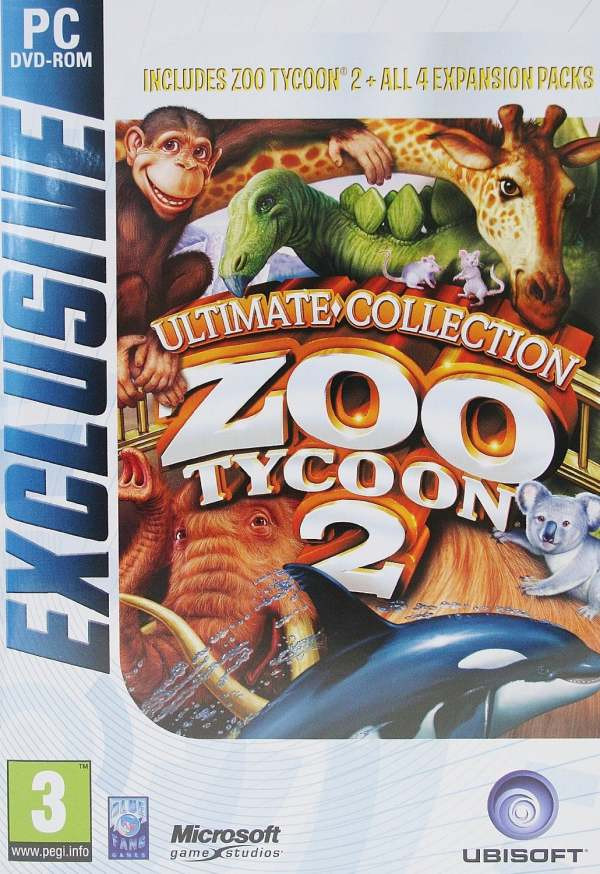 Zoo Tycoon 2 Ultimate Collection Game (Exclusive) (PC DVD)
