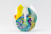 Chris Steffens - Large Reef Paperweight #1