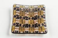 Xander D'Ambrosio - Brown & Onyx (49x)  Murrine Plate