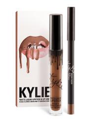 Kylie Lip Kit in Brown Sugar