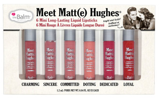 theBalm Meet Matt(e) Hughes Liquid Lipstick Mini Set Vol. 1
