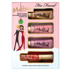 Too Faced Merry Kissmas Melted Matted Lipstick Set