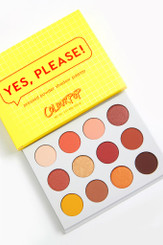 Colourpop Eyeshadow Palette in Yes, Please!