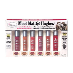 theBalm Meet Matt(e) Hughes Liquid Lipstick Mini Set Vol. 2