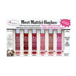 theBalm Meet Matt(e) Hughes Liquid Lipstick Mini Set Vol. 3