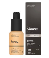 The Ordinary Coverage Foundation SPF15 in 2.1Y Medium