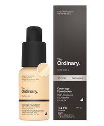 The Ordinary Coverage Foundation SPF15 in 1.2YG Light