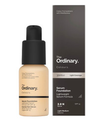 The Ordinary Serum Foundation SPF15 in 2.0N Light Medium