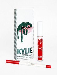 Kylie Lip Kit in Red Velvet