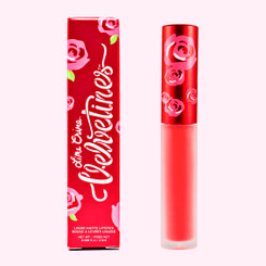 Lime Crime Velvetines Liquid Matte Lipstick in Suedeberry