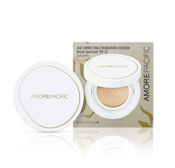 AmorePacific Age Correcting Foundation Cushion in 204 Light Medium