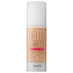 Benefit Hello Flawless Oxygen Wow Foundation in Honey
