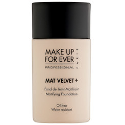 MUFE Mat Velvet+ Mattifying Foundation in 30 Porcelain