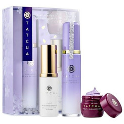 Tatcha Skincare For Makeup Lovers: Instant Dewy Glow Set