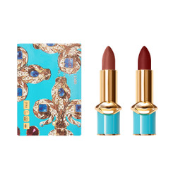 Pat McGrath Opulence Collection: MatteTrance Lipstick Duo in Aquamarine