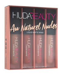 Huda Beauty Liquid Matte Minis: Au Naturel Nudes