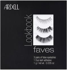 Ardell Mini Faves Lash Lookbook + Duo